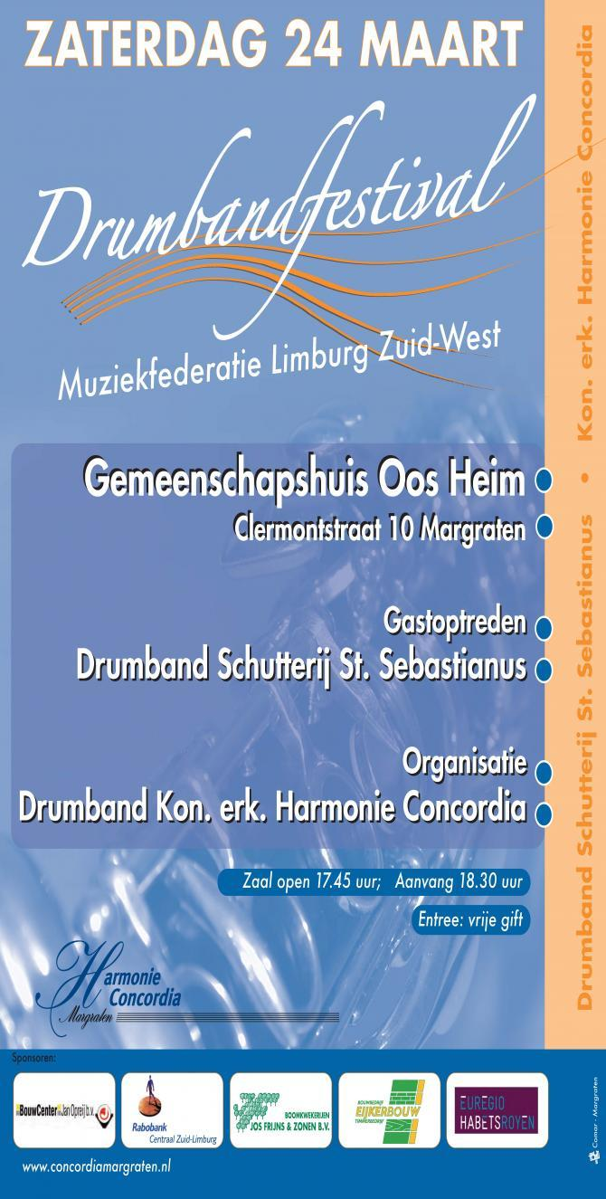 Affiche Drumbandfestival